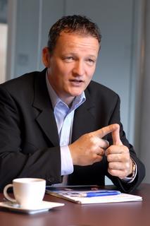 Carsten Holtrup, Geschäftsführer von Trimble Transport & Logistics Deutschland