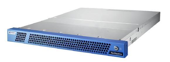 Das All-NVMe-Flash-Array NeoSapphire P310 von AccelStor belegt nur eine Höheneinheit im Rack.