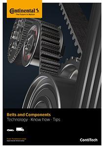 "The new brochure ""Belts and Components. Technology – Know how – Tips"" offers vehicle professionals a reference work for belt drive components (Photo: ContiTech)"