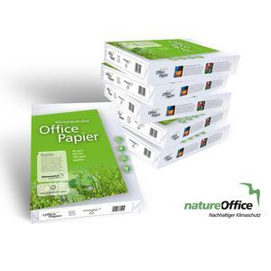 Erstes klimaneutrale Office- und Kopierpapier für den Einsatz in Unternehmen.