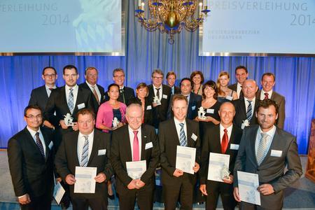 ViscoTec mit Gewinnern aus Oberbayern