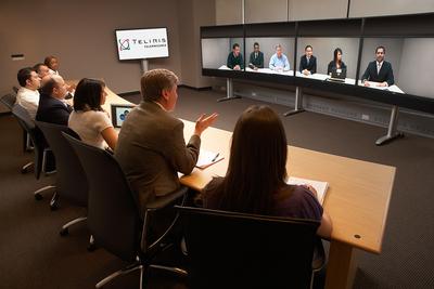 Die Teliris Telepresence 6G nutzt die Echounterdrückung und MPEG AAC LC des Fraunhofer IIS