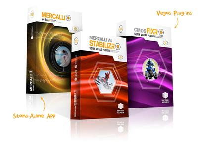 The proDAD Mercalli® V4 Suite Now Available for Sony Vegas Pro