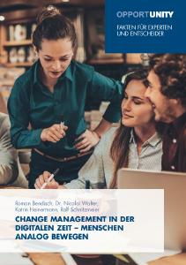 OPPORTUNITY: Change Management in der Digitalen Zeit