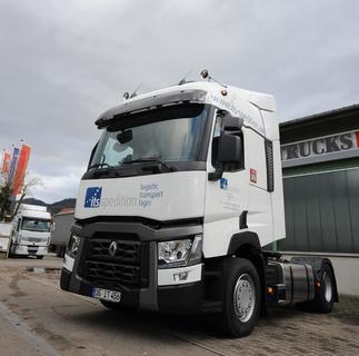 Ende Dezember hat die ITS Spedition GmbH aus Offenburg den ersten Renault Trucks T in ihren Fuhrpark übernommen
