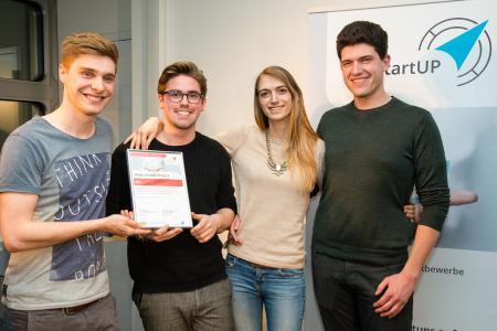blik: Sieger Münchener Businessplan Wettbewerb 2017 Phase 1