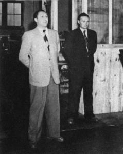 Dr.-Ing. E. h. Georg Schaeffler (links) und Dr. Wilhelm Schaeffler. Die Brüder ergänzten sich in der Unternehmensführung hervorragend
