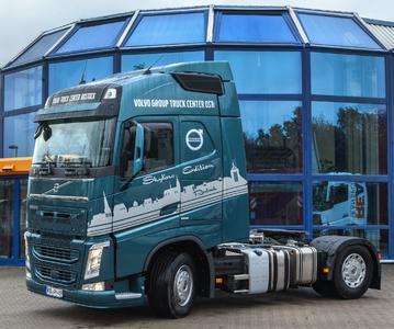Innovation und Kunst: Der Skyline Truck bietet mit der Skyline Rostocks eine tolle Optik.