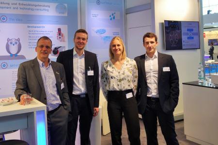 velixX GmbH - Manfred Augstein und sein Messeteam