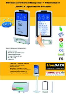 LionDATA Digital Health Protector