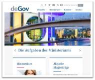 deGov - erstes Open Source-basiertes E-Government-Framework für Portale und Internet-Auftritte der Öffentlichen Hand in Deutschland vorgestellt