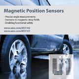 New generation of magnetic position sensors from ams excel in safety-critical automotive applications