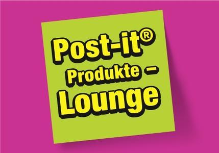 Einladung in die Post-it Produkt-Lounge