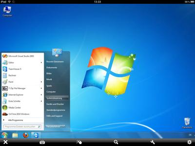 Screenshot TeamViewer HD