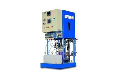 Kompakte, leistungsstarke Flotationsanlage für die Abwasserbehandlung an Waschplätzen