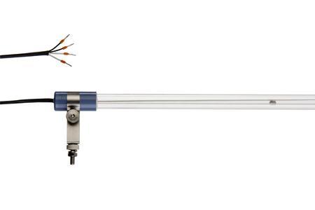 Die leistungsstarke Vakuum UV-Lampe mit spezieller Longlife-Beschichtung ermöglicht eine Nutzungsdauer von bis zu 10.000 Stunden in einer Umgebungstemperatur bis zu 80 °C. (Bild: Heraeus Noblelight GmbH)