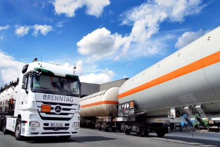 With Brenntag onboard, the #1 in chemicals distribution in Germany has now opted for the terminal management system OpenTAS. © Brenntag GmbH