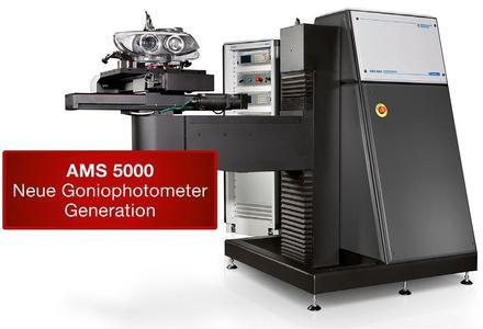AMS 5000 Goniophotometer mit neuen Servoantrieben