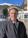 Geschäftsführer Carsten Geyer in Davos auf dem WEF 2020
