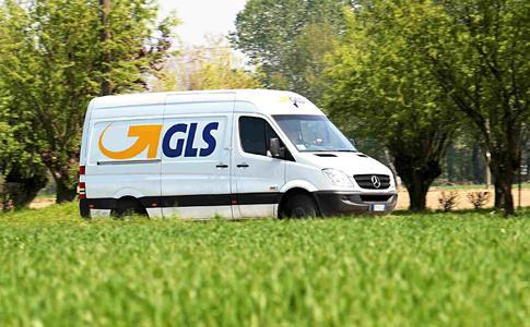 GLS Zustellfahrzeug