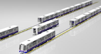 "Innovative ""Train Ring"" is the best rail train solution - Switch Cars, No Reconfiguration"