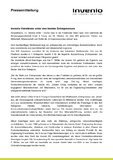 [pdf] Pressemitteilung : invenio-Vorstände unter den besten Entrepreneurs
