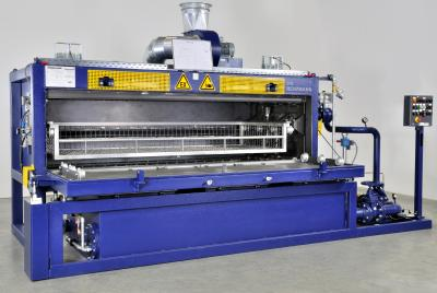 Energy-efficient cleaning and treatment systems in the printing industry