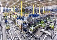 Im Innern des neuen CLAAS Logistikzentrums in Hamm-Uentrop.  (Bild: CLAAS)
