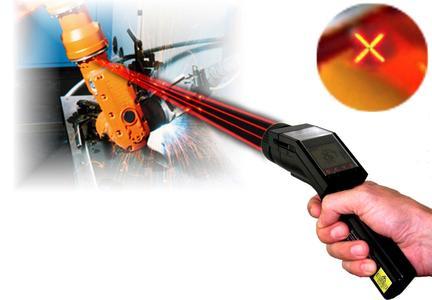 LaserSight bei der Temperaturüberwachung