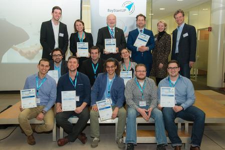 Sieger Businessplan Wettbewerb Nordbayern 2016 Phase 1