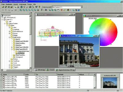 Komfortable Funktionalität zum Betrachten und Drucken unterschiedliche Dateiformate mit RxView®