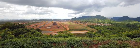 Overview of the operation site at S11D Complex in Brazil