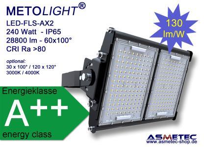 METOLIGHT LED Flutlicht FLS-AX2, 240 Watt, 28800 lm