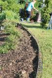 Einsatzgebiet - Abtrennung von Rasen und Beet