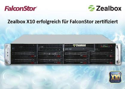 Zealbox X10 FalconStor Storage Appliance