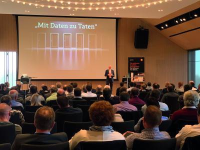 Lutz Krämer, Bereichsleiter Produkte bei Babtec, zeigte in seinem Vortrag die Handlungsfelder des digitalisierten Qualitätsmanagements auf.