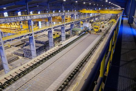 The new Nucor plant, comparable to this one, is designed to produce a wide range of merchant bar products to complement the existing product portfolio