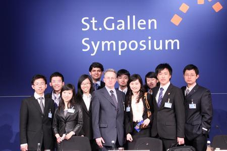 Das St. Gallen Symposium ist neben dem Weltwirtschaftsforum in Davos einer der bedeutendsten Wirtschaftsanlässe.