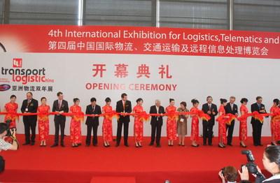 transport logistic China 2010 ganz im Zeichen des weltweiten Aufschwungs im Güterverkehr