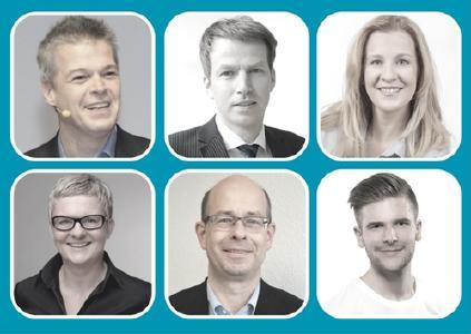 Sechs Referenten bieten aktive Einblicke in aktuelle Themen der Personalentwicklung und Seminarleitung