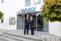 Herr Dipl. Kfm. Univ. Manfred Braun verstärkt die Geschäftsleitung der noax Technologies AG und tritt damit an die Seite der Gesellschafterin und CEO Frau Dipl.-Ing. Verena Schechner.