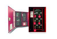 Der Feuerwehr-Zutrittsorganisator FZO von re'graph gibt unterschiedliche Objektschlüssel erst im Alarmfall passend zum Auslösebereich frei.