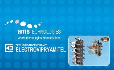 Beide Firmen, AMS Technologies AG und JSC Electrovipryamitel, werden als Austeller bei der PCIM 2012  teilnehmen