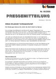 [PDF] Pressemitteilung: bitbone AG gründet Tochtergesellschaft