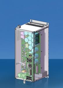 Voraussichtlich ab Mitte des Jahres werden die überarbeiteten Frequenzumrichter mit erweiterten Funktionen und teilweise kompakteren Bauformen zur Verfügung stehen