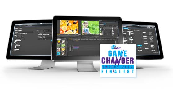 Brandnew - but already nominated as IABM Game Changer Award Finalist at NAB 2016: EditMate proxy.
