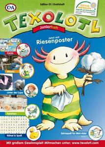 Texolotl vermittelt auf spielerische Weise Wissen rund um sichere Textilien und den OEKO-TEX® Standard 100 / ©Franziska Harvey | OEKO-TEX®