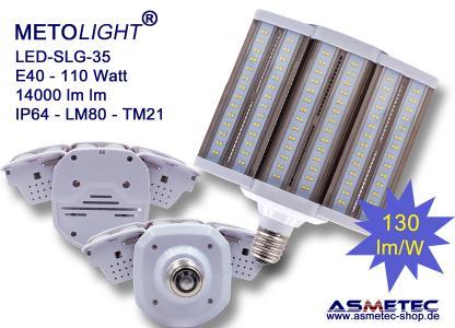 METOLIGHT SLG35, 110 Watt mit zwei ausklappbaren Modulen