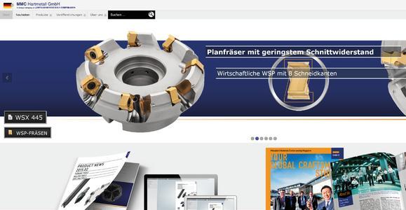 Neue Internetpräsenz der MMC Hardmetal Europe