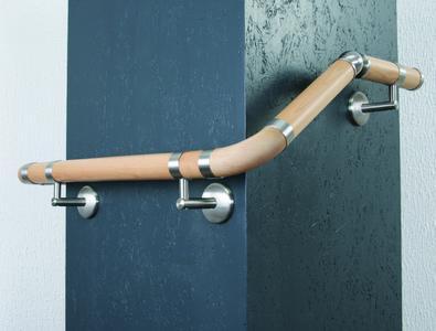 Holzhandlaufsystem LIGNUM - Flexible und bequeme Montage